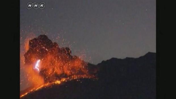 Le volcan Sakurajima est entré en éruption au Japon