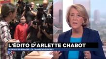 """Podemos en Espagne, la victoire de """"la lutte contre l'austérité"""" selon Arlette Chabot"""