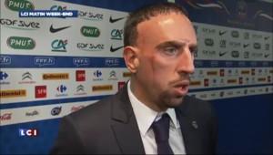 """Ribéry : """"ca va être dur contre l'Espagne"""""""