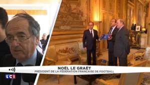 """""""Si l'Euro est en France, on lui doit"""" : Le Graët solidaire de Platini"""