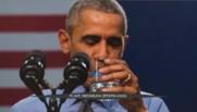 Leur eau était contaminée au plomb : pour les rassurer, Obama en boit un verre