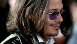 """L'acteur Johnny Depp au Festival du film de Toronto pour le film """"West of Memphis"""""""