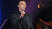 Le chanteur Hubert Mounier alias Clit Boris de L'Affaire Luis' Trio