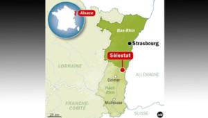 Une explosion accidentelle dans un lycée à Sélestat a fait deux blessés, dont un grave.