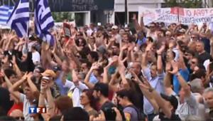 Echauffourées à Athènes en marge d'une manifestation contre l'austérité