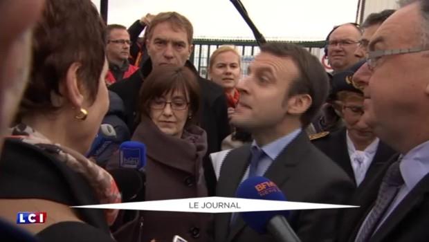 En visite dans le Puy-de-Dôme, Macron a été hué par des syndicats