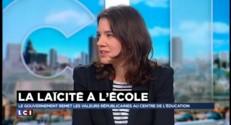 """Laïcité à l'école : """"On est un peu paumé"""" assure la prof Mara Goyet"""