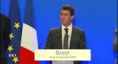"""Notre-Dame-des-Landes : Royal souhaite """"bon courage"""" à Valls, il n'y voit """"aucune ironie"""""""