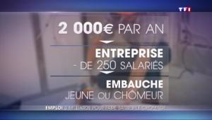 Plan d'urgence contre le chômage : ce que Hollande a annoncé