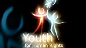 TF1/LCI : Sigle figurant sur le DVD et dans le clip de l'Association internationale des jeunes pour les droits de l'homme, liée à l'Église de scientologie