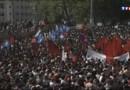 Les manifestants envahissent la place Taksim.