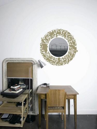 d coration id es fut es pour utiliser les stickers muraux tendances d co d co. Black Bedroom Furniture Sets. Home Design Ideas