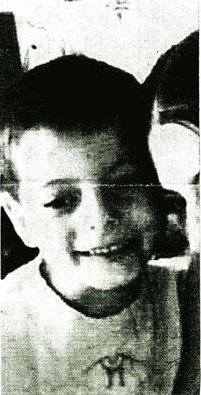 Photo d'Antoine, six ans, diffusée avec un avis de recherche de la gendarmerie