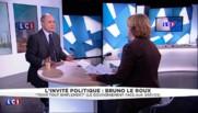 """Bruno Le Roux : """"Il y a un droit de grève mais pas d'asphyxier le pays"""""""