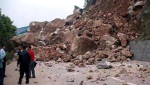 Chine Sichuan séisme