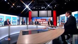 Départementales : débat animé entre Le Guen, Le Pen et Estrosi