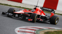 F1 Essais Barcelone 2013 - Chilton Marussia