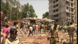 Inde : au moins 45 morts dans l'effondrement d'un immeuble