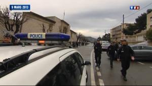 Le 13 heures du 14 mars 2013 : Valls envoie des renforts �arseille pour rassurer la population - 2205.972