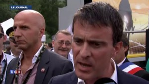 Manifestation pro-palestinienne à Paris : Valls condamne fermement