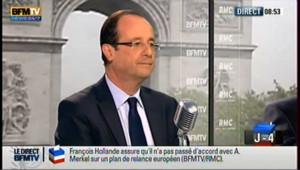 S'il est élu, Hollande sera au travail dès lundi