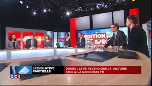 """Une porte-parole du PS """"félicite"""" Frédéric Barbier après sa victoire dans le Doubs"""