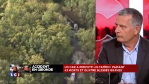 """Accident en Gironde : """"Un process long qui va suivre"""""""