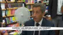 Campus des jeunes Républicains au Touquet : tout pour Sarkozy