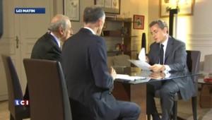 Ce qu'il faut retenir de l'interview de Nicolas Sarkozy