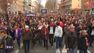 Charlie Hebdo : Toulouse se mobilise contre le terrorisme