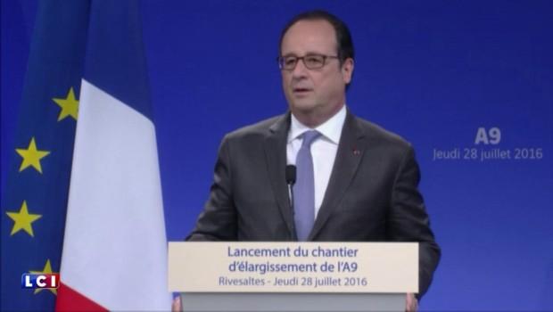 """François Hollande : """"Nous allons créer une garde nationale"""""""