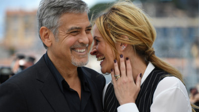 George Clooney Julia Roberts Cannes 2016