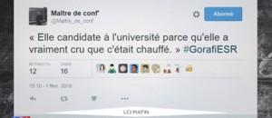 Le monde universitaire dénonce avec humour un manque de moyens