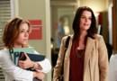 """Neve Campbell (à droite) dans la saison 9 de """"Grey's Anatomy""""."""