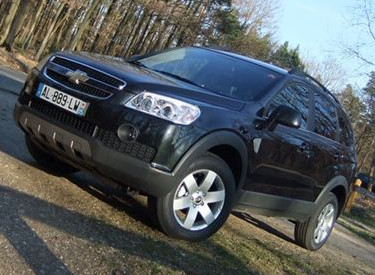 Photo 2 : Essai Chevrolet Captiva 2.0 VCDI Familly Navi Pack : dispensé de malus