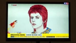 A Londres, les Britanniques saluent le génie musical et stylistique de David Bowie