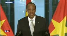 """Blaise Compaoré : """"Je transmettrais le pouvoir au président démocratiquement élu"""""""