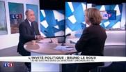 """Bruno Le Roux : EELV est """"un groupe qui n'arrive plus à vivre ensemble"""""""