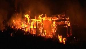 Incendie en Corse