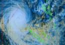 Le cyclone Sandra approche des côtes de la Nouvelle Calédonie ce 10 mars.