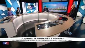 """Arnautu et Gollnisch sommés de quitter les instances du FN: J-M Le Pen """"trouve le procédé singulier"""""""