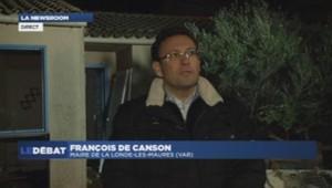 françois de canson, maire de la londe-les-maures 20/01/2014