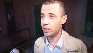 TF1/LCI - Stéphane Audibert à sa sortie du tribunal d'Aix-en-Provence, le 10 novembre 2006