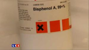 Un flacon de bisphénol (archives).