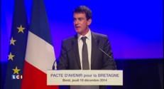 """Valls : """"Sans la Bretagne, la France ne serait pas ce qu'elle est"""""""