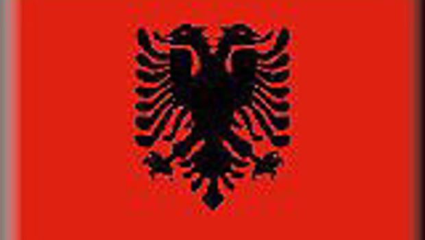 albanie drapeaux cartes-drapeaux monde