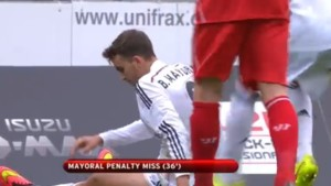 Borja Mayoral Penalty raté Real Madrid jeunes