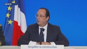 François Hollande présente son pacte de simplification à Toulouse 09/01/2014