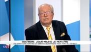 """Jean-Marie Le Pen s'interroge sur """"les raisons qui poussent Marine à se suicider politiquement"""""""