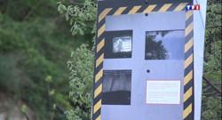 Le 13 heures du 10 avril 2014 : Un faux radar pour lutter contre les accidents - 102.598